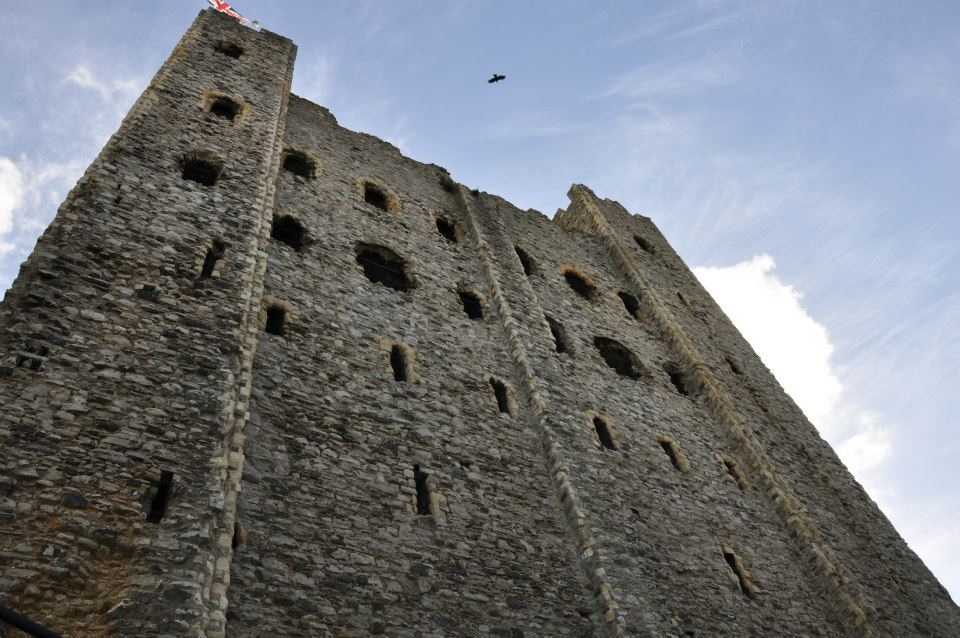 Rochester Castle, Kent, UK