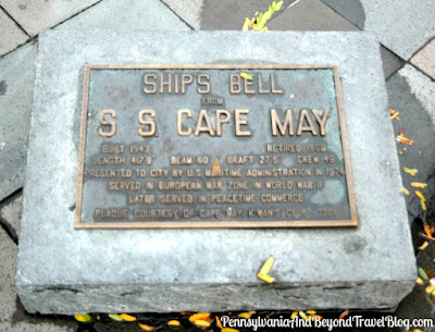Ship's Bell from the Historic S. S. Cape May in New Jersey