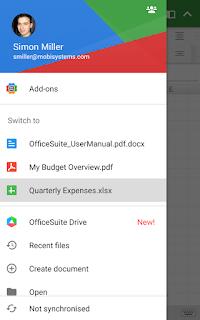 OfficeSuite Pro + PDF screenshot 6