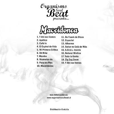 Organismo Soulbeat presenta Maceidonea