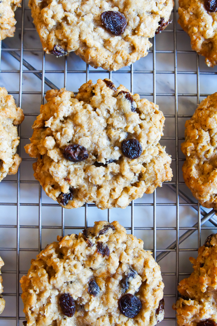 """smiling oatmeal raisin cookie ... the """"Groot"""" cookie"""