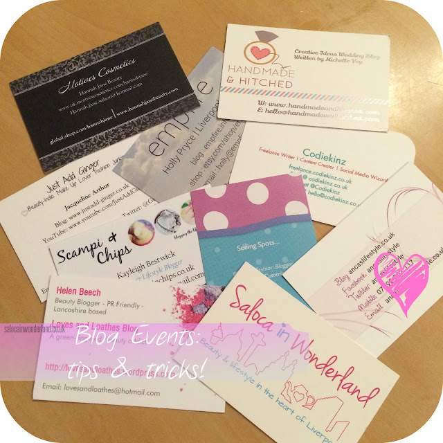 blog events tips and tricks