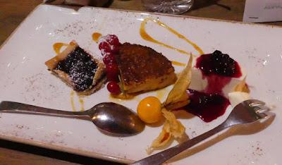 Dessert im La Rustica, Würzburg