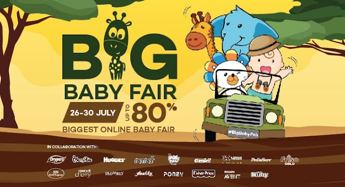 Shopping di Lazada Big Baby Fair