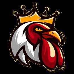 logo kepala ayam petarung