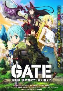Gate: Jieitai Kanochi nite, Kaku Tatakeri - Todas as Temporadas - Full HD 1080p