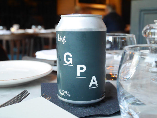 Beer Pairing at The Coal Shed Brighton restaurant