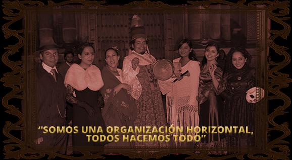 Una de las representaciones de Quito Eterno