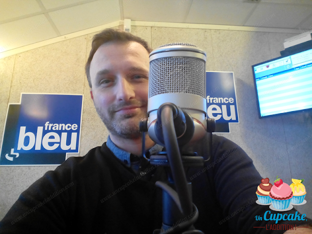 "Sébastien d'""Un Cupcake, l'Addition !"" chez France Bleue Pays Basque"