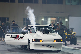 purging Nitrous out his 1991 Ford Mustang