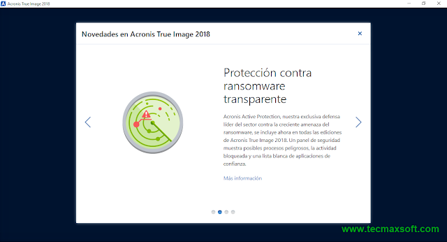 descargar Acronis True Image 2018 Full MEGA Captura 3