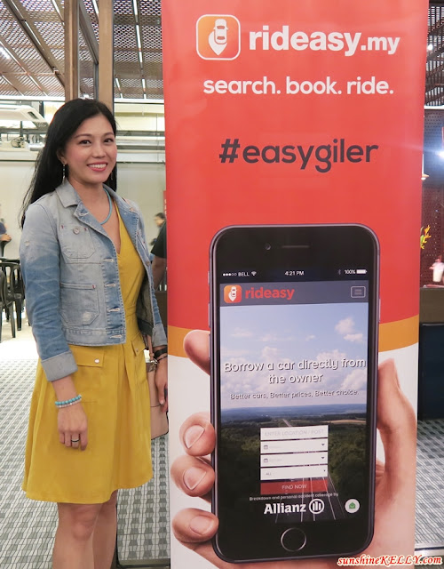 Rideasy Malaysia's First Online Car Sharing Marketplace