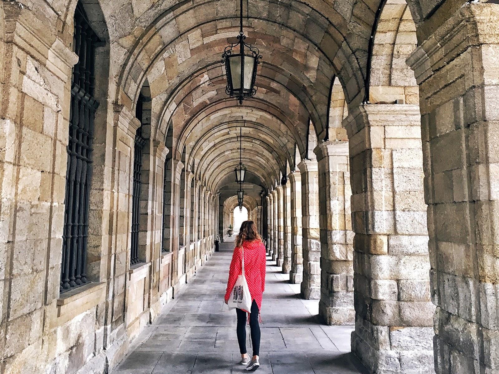 El Camino cesta, Santiago de Compostela, ejnets, travel blogger