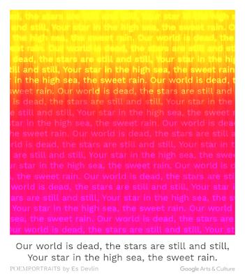 Google Arts and Culture gives us a short Poem for keywords