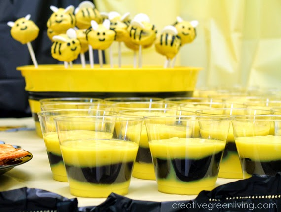 Lots of ideas for a budget friendly bee theme party - including food, decorations, outfit suggestions,party favors, invitatons and more. #birthday #birthdayparty #party #partyideas #bumblebee #kids #thirdbirthday