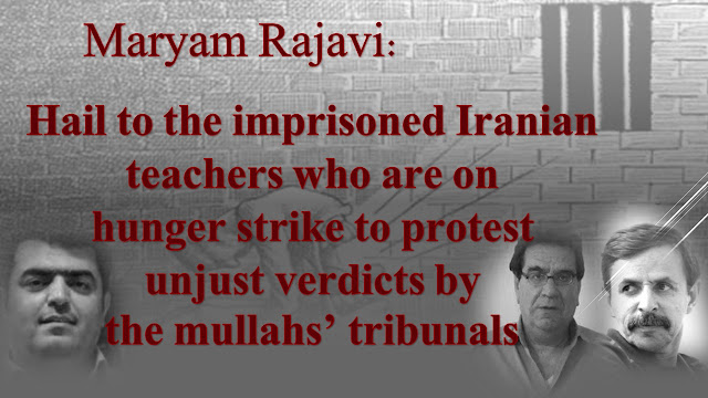 ail to the imprisoned Iranian teachers who are on hunger strike