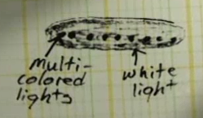 September 16, 2008: At first, police mocked the 911 call about the UFO sighting–but then they saw it too.