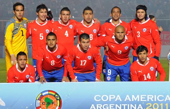 Formación de Chile ante México, Copa América 2011, 4 de julio