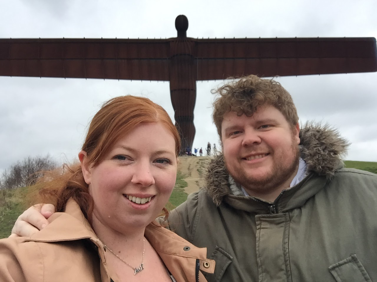 Angel of the North Selfie