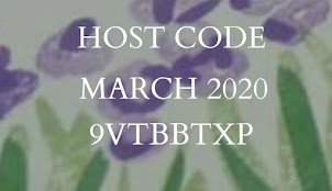 HOST CODE FOR MARCH 2020