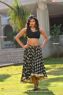 Hebah Patel in Spicy Black Choli and Ghagra HD Pics  029.jpg