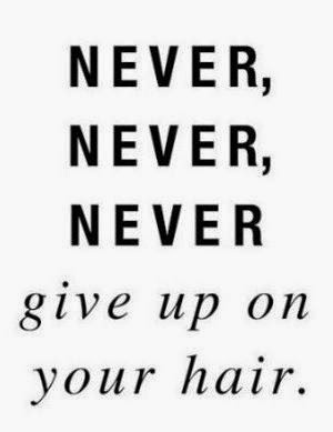 10 Quotes To Help When Frustrated With Your Beautiful Natural Hair. It's not always easy and sometimes you just need a reminder why you are here.