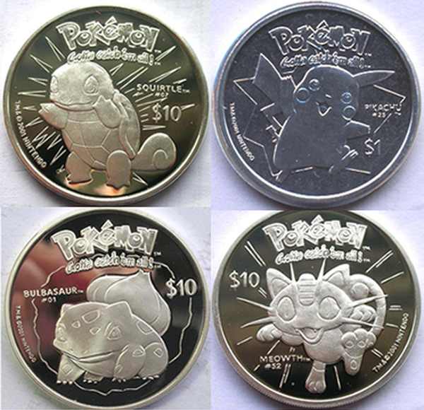 COINS & BANKNOTES OF ISLAND NATIONS