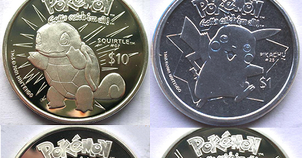 Top World Pic Niue Pokemon Legal Coins