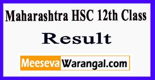 Maharashtra HSC 12th Class Result 2017
