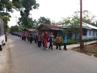 Jalan Santai SMP Muhammadiyah Sungai Pandan