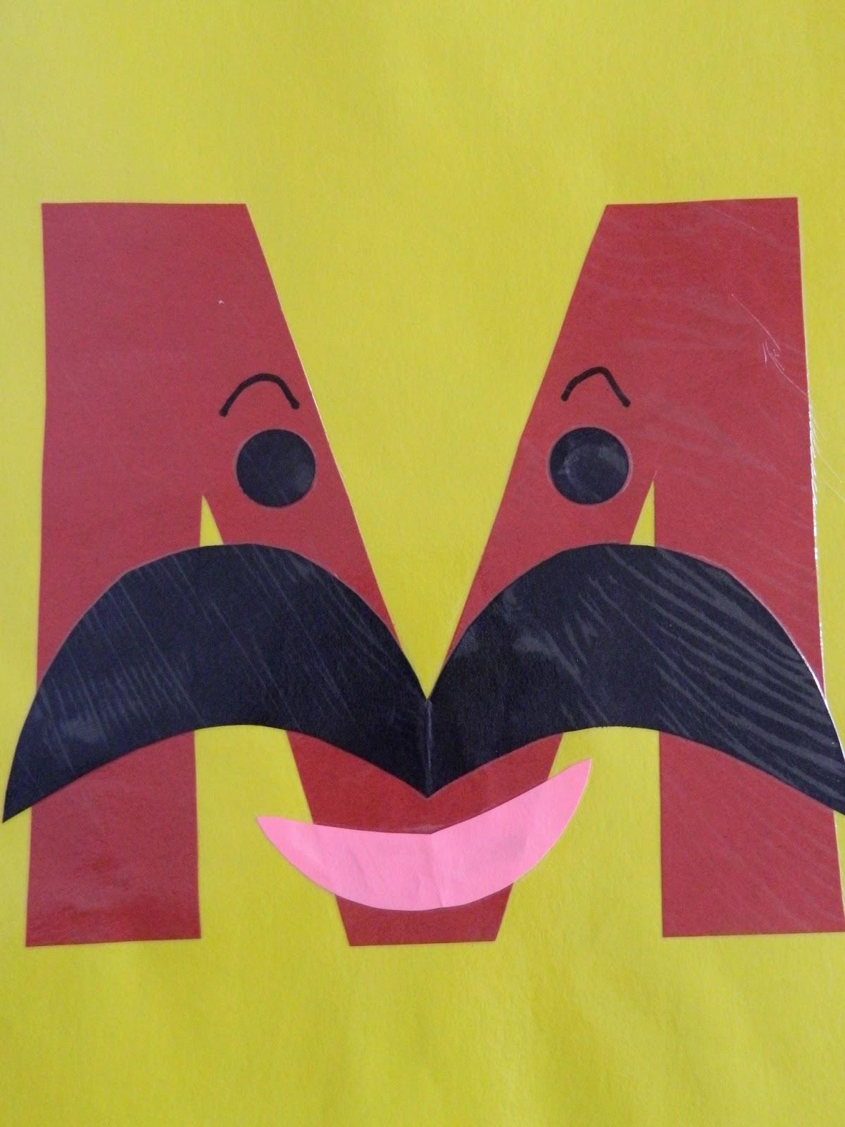 The Vintage Umbrella Preschool Alphabet Projects Letters I P