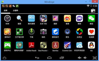 Emulator Android Teringan dan Terbaik Windroye
