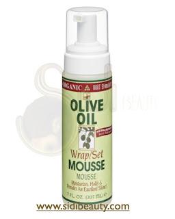 Espuma Aceite de Oliva Organic Root Stimulator