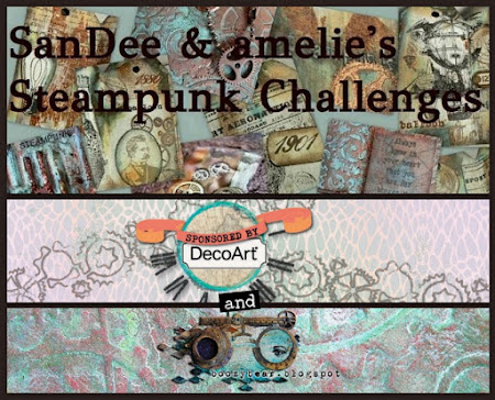 SanDee & Amelie's Steampunk Challenges - todo vale - steampunk / industrial