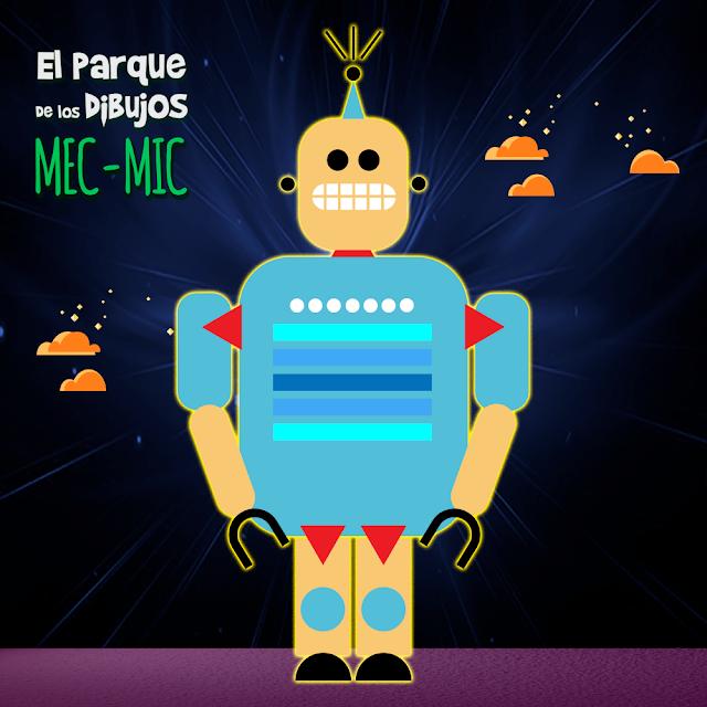 El robot MEC-MIC de Planeta Pomelo