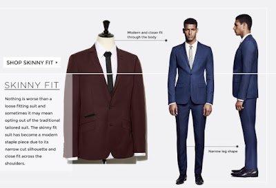 wedding planning - suits skinny fit