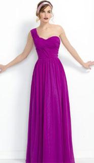 vestido de fiesta asimetrico con un solo hombro 2018