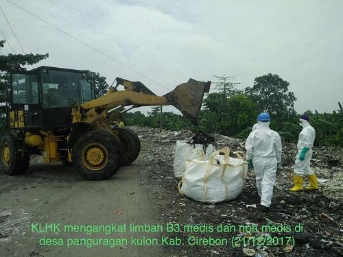 KLHK Musnahkan Limbah B3 Medis di Cirebon