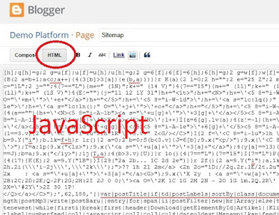 Add HTML Sitemap Page In Blogger-4
