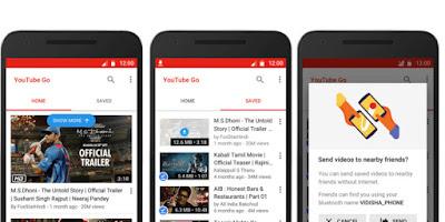 تحميل يوتيوب جو youtube go لمشاهد مقاطع الفيديو على هاتفك بدون انترنت