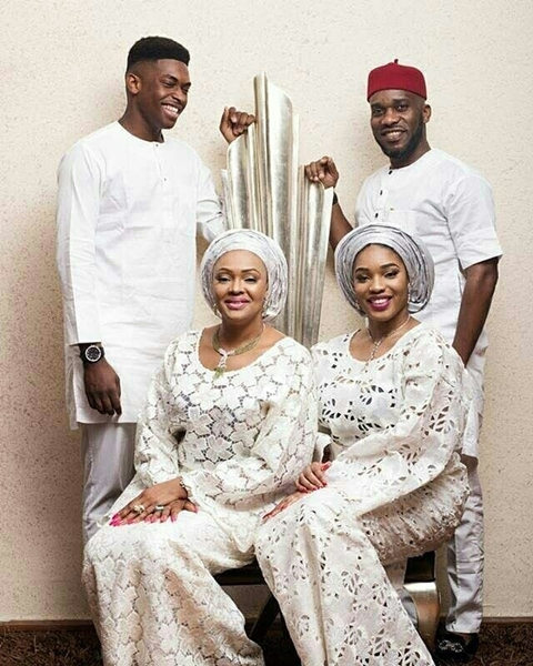 Beautiful Photos of JayJay Okocha, His Wife & Grown-up Children