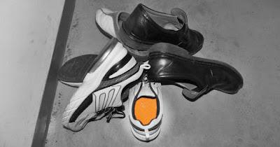 古い靴を処分されるときは、しっかりとインソールが入っていないかを確認してください