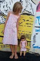 patrones de vestido y blusa de niña