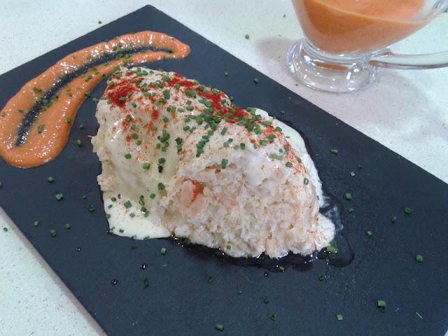 Pastel de Bacalao Dos Salsas 2