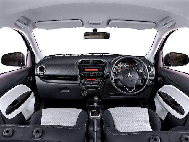 Interior Mitsubishi New Mirage Facelift 2016