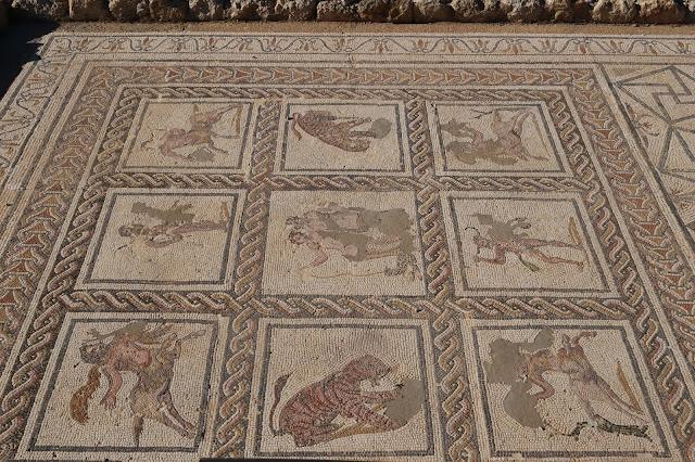Mosaico de la casa del planetario