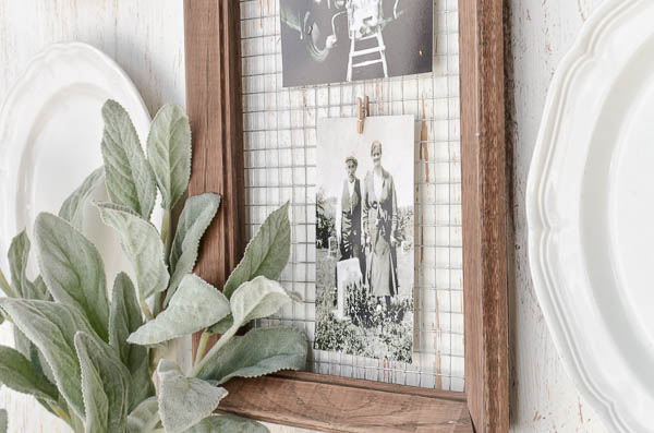 DIY Message Board perfect for displaying notes or favorite pictures.      Created by anderson + grant for Craftberry Bush.