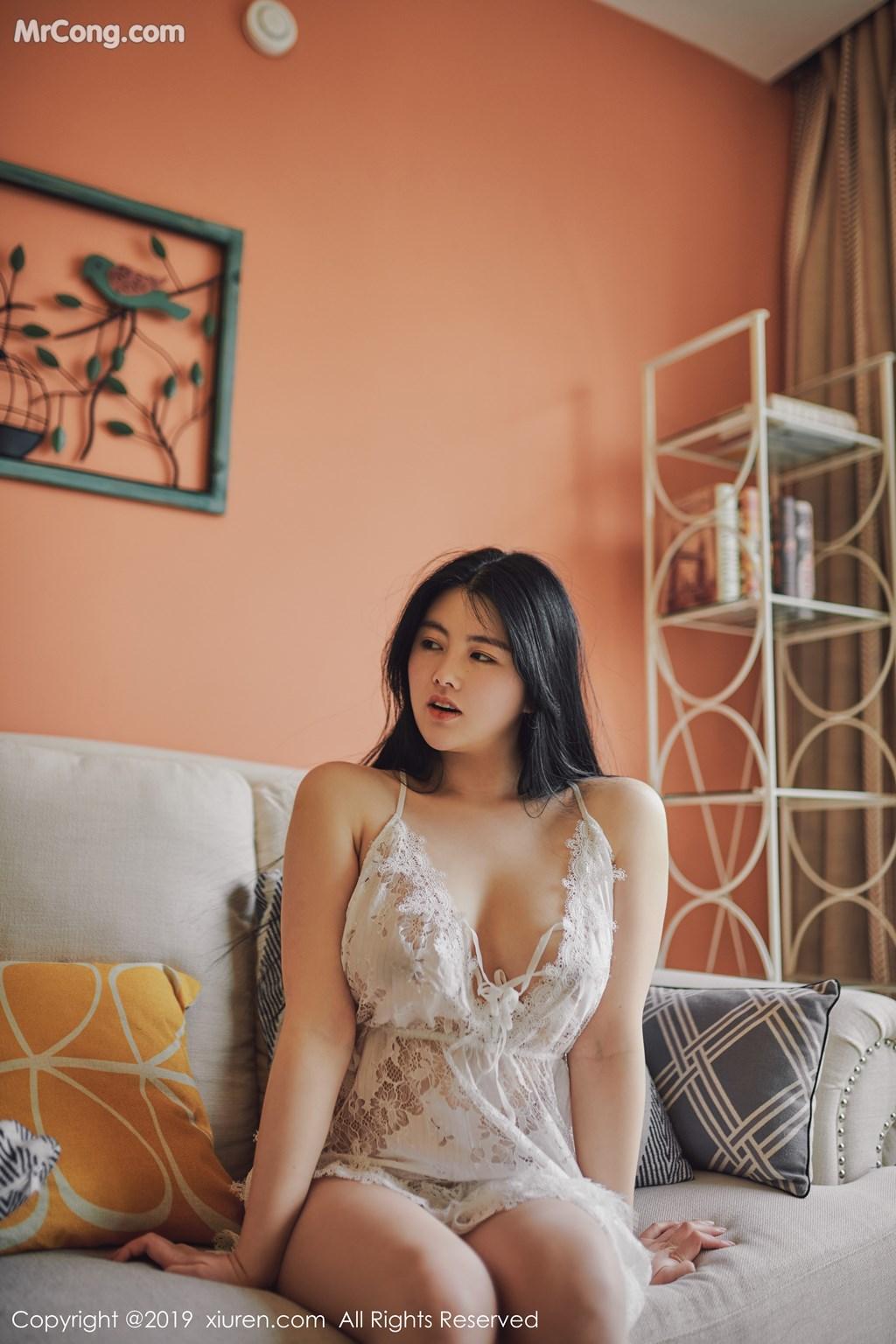 Image XIUREN-No.1468-Selena-MrCong.com-009 in post XIUREN No.1468: 娜露Selena (42 ảnh)