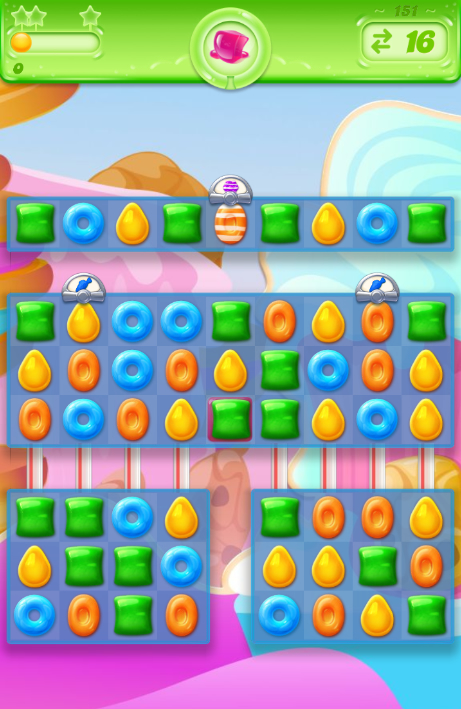 Candy Crush Jelly Saga 151