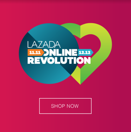 Lazada 1111 Online Revolution Starts From Today ♥puisan33♥